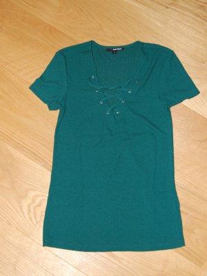 Tally Weijl Top basic verde bosco-verde scuro Tessuto misto