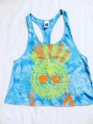 Zumba Fitness Top deportivo sin mangas multicolor