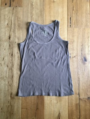 Top taupe Baumwolle