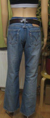 Top Vintage LEVIS 529 Hüft-Jeans..blue washed.. bootcut.. Größe W30/L32, DE 38