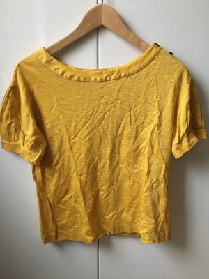 3.1 Phillip Lim Top basic giallo-oro