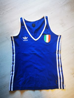 Adidas Sporttop wit-blauw