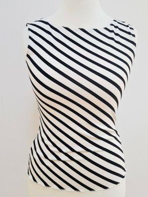 Alba Moda Tanktop wit-zwart