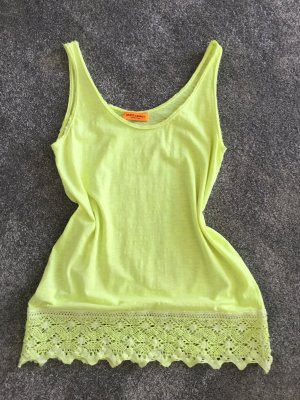Arlette Kaballo Long Top neon yellow cotton