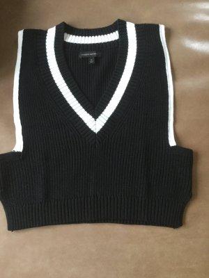 Banana Republic Haut tricotés noir-blanc