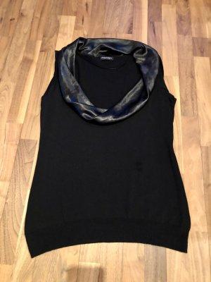 Blacky Dress Top collo ad anello nero