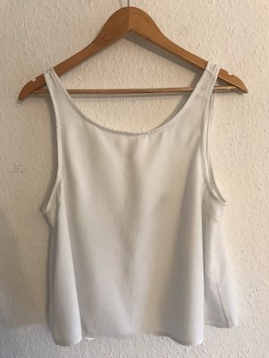 Brandy & Melville Backless Top white