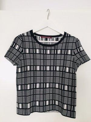 Comptoir des Cotonniers T-shirt nero-bianco sporco