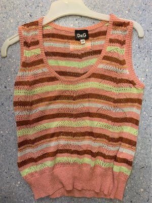 Dolce & Gabbana Knitted Top multicolored