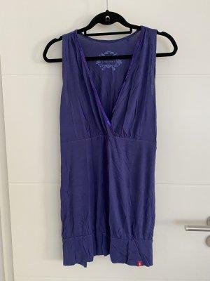 edc by Esprit Long Top dark violet-blue viscose