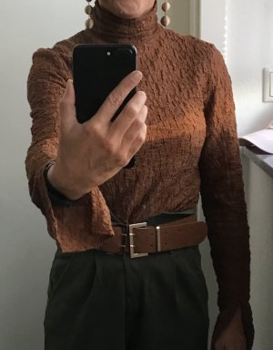 H&M Top long cognac