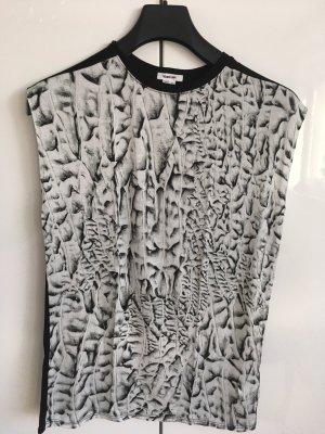 Helmut Lang Canotta a bretelle nero-bianco