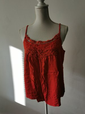 Ichi Frill Top red