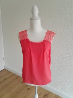 Pepe Jeans Blouse topje lichtrood Polyester