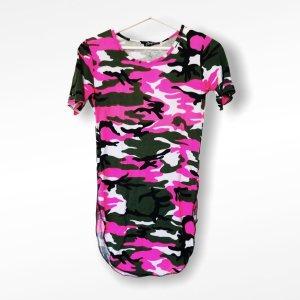 Style Carmen shirt roze