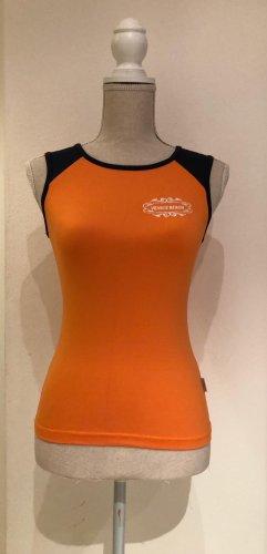 Venice beach Sporttop oranje-zwart Polyamide