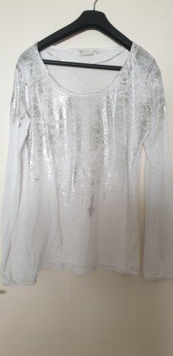 Top weiß/silber von yaya Gr. L