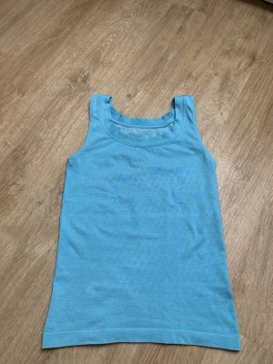 Wolford Basic Top light blue
