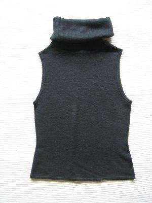 Clockhouse Top de cuello de cisne negro