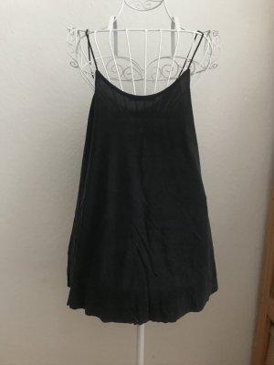 Zara Spaghettibandtopje zwart