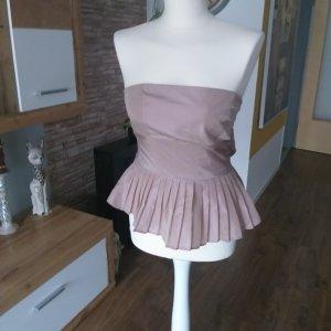 Zara Basic Top senza maniche rosa antico