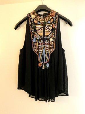 Top Zara schwarz