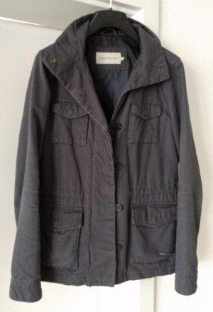 [TOP ZUSTAND] CALVIN KLEIN JEANS # Übergangsjacke # Taille mit Kordelzug (verstellbar) # Größe M (38) # graublau