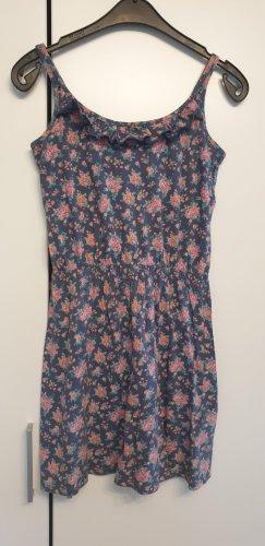 Crazy World Pinafore dress multicolored cotton