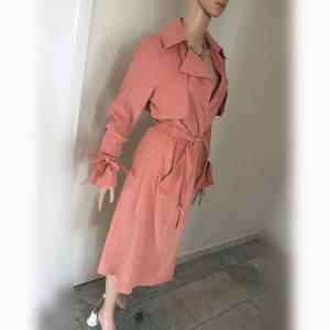 Tom Tailor Denim Gabardina rosa empolvado tejido mezclado