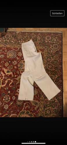 Strenesse High Waist Trousers natural white