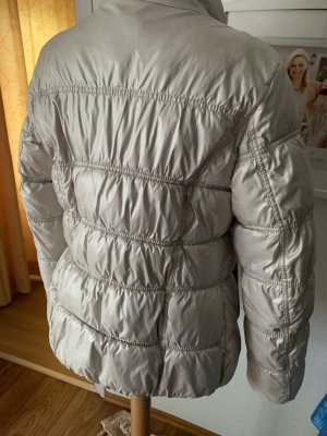s.Oliver Quilted Jacket oatmeal