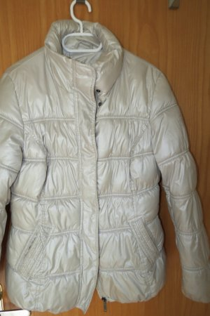 s.Oliver Quilted Jacket cream-oatmeal