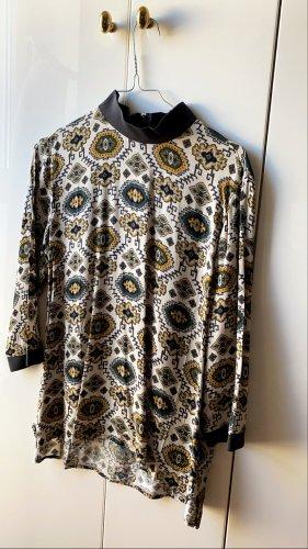 Be only Szydełkowana koszulka Wielokolorowy Tkanina z mieszanych włókien