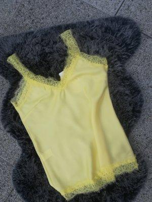 Italia Moda Silk Top yellow
