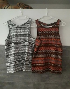 Tops mit Muster