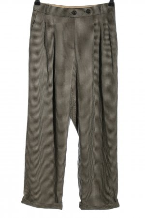 Topshop 7/8 Length Trousers check pattern business style