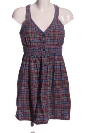 Topshop A-Linien Kleid Karomuster Casual-Look