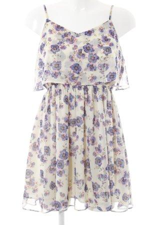 Topshop A-Linien Kleid Blumenmuster