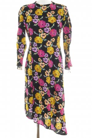Topshop A-Linien Kleid Blumenmuster Business-Look