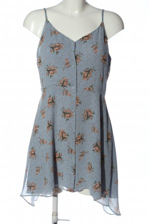Topshop A-Linien Kleid Blumenmuster Casual-Look