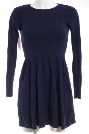 Topshop A-Linien Kleid hellrosa-dunkelblau