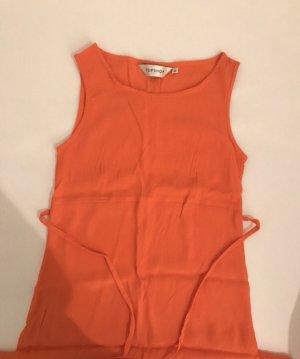 TopShop A-Linien Kleid orange Casual-Look
