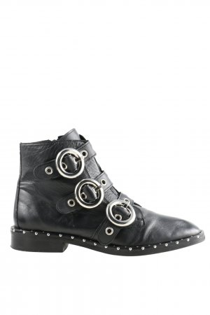 Topshop Ankle Boots schwarz Casual-Look