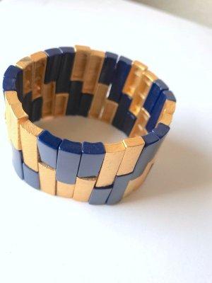 Topshop Armband Armreif gold blau party Schmuck Vintage Blogger