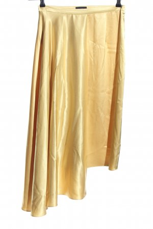 Topshop Asymmetrie-Rock goldfarben Casual-Look