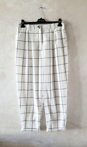 Topshop Baggy Pants white-black