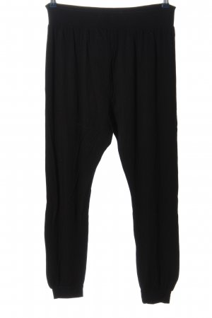 Topshop Baggy Pants schwarz Casual-Look