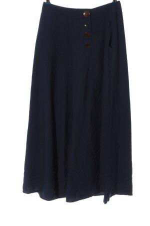 Topshop Baggy Pants blau Business-Look