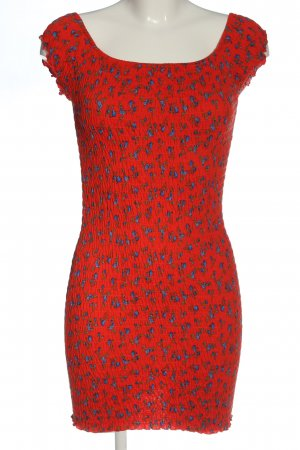 Topshop Mini Dress flower pattern casual look