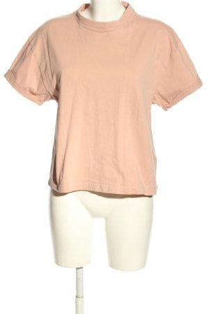 Topshop Basic-Shirt nude Casual-Look